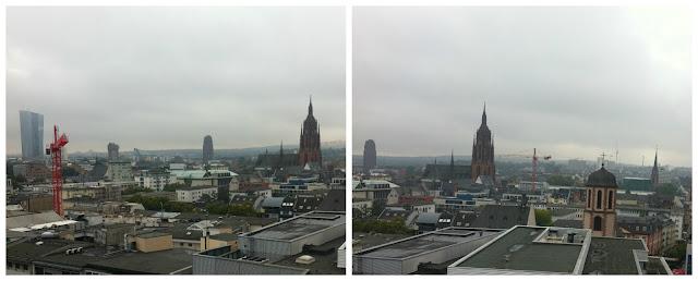 vista da Zeil Galerie, Frankfurt