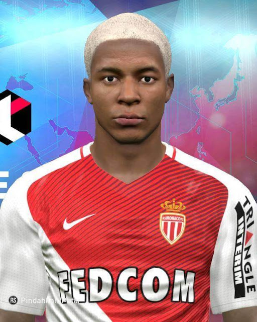 Kylian Mbappé Blonde Hair PES 2017