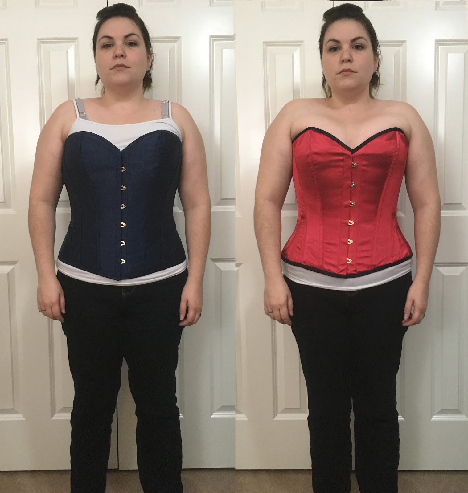 b32e9208067 If Alanna wished to accentuate her small waist instead of enhance her  bustline