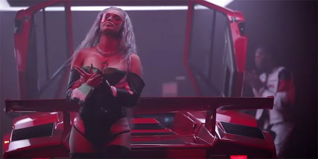 Migos, Nicki Minaj and Cardi B drop new 'MotorSport' video