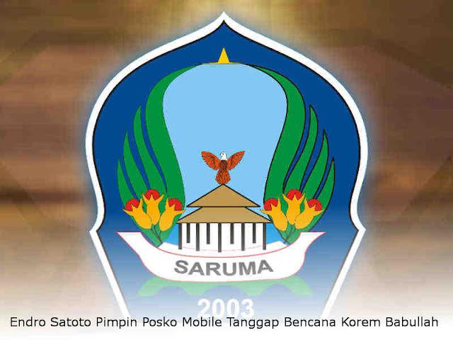 Endro Satoto Pimpin Posko Mobile Tanggap Bencana Korem Babullah