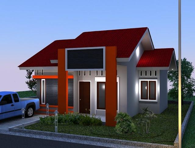 model rumah minimalis sangat sederhana sekali
