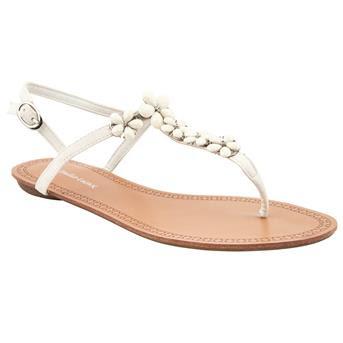 Emilio Luca X Floral Jewl Flat Sandals