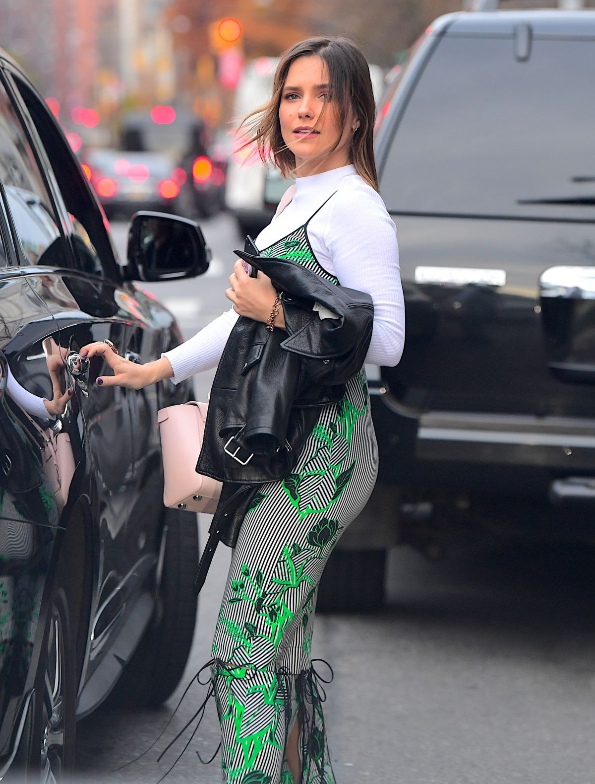 Sophia Bush rush for riding her car in New York