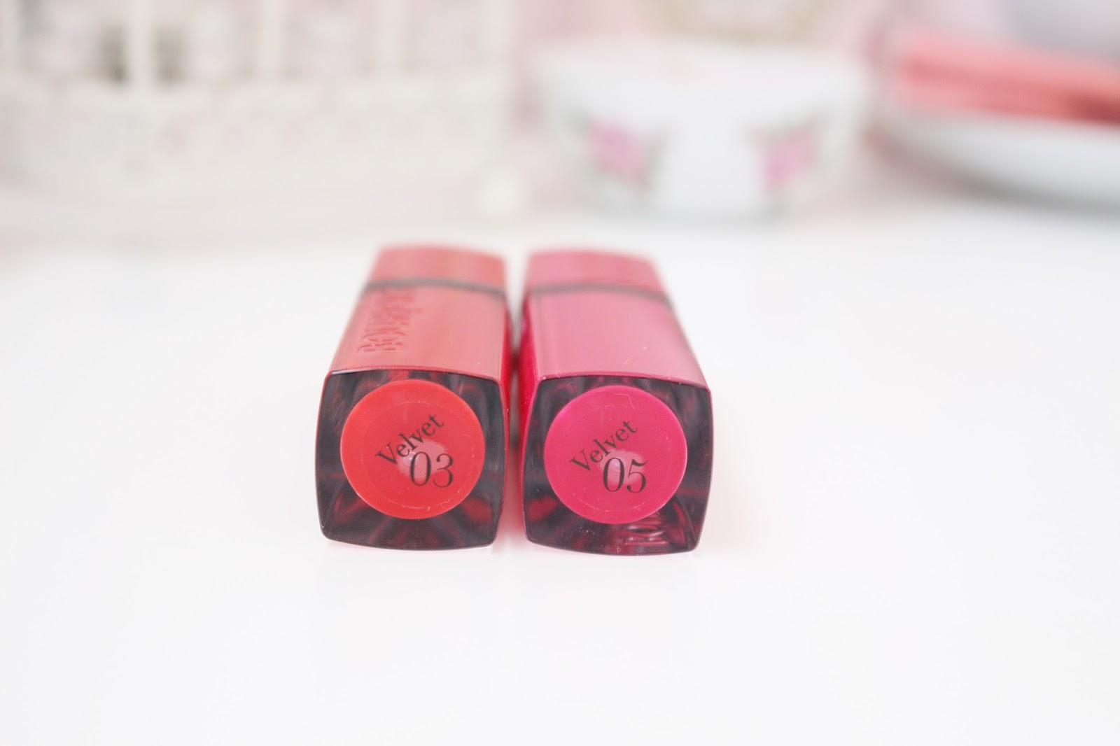 Bourjois Rouge Edition Velvet Lipsticks Review