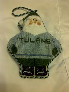 Carol Dupree Tulane Santa