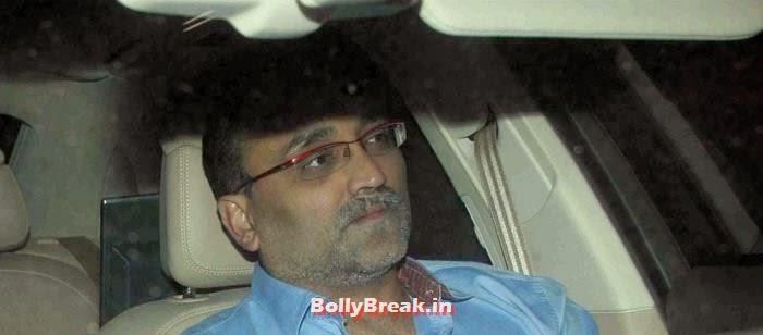 Aditya Chopra, Celebs Visit Ravi Chopra's Funeral