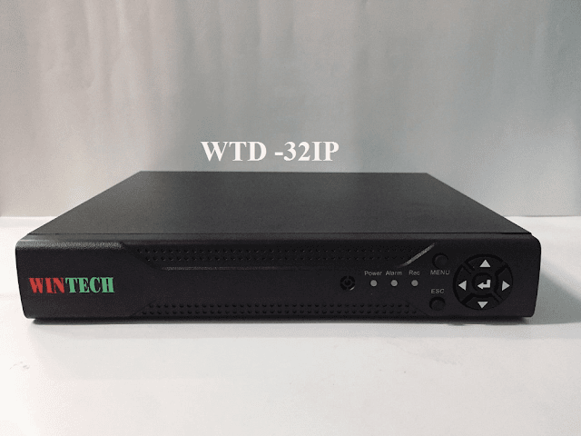 Đầu ghi hình camera 32 kênh IP WTD -32IP WinTech
