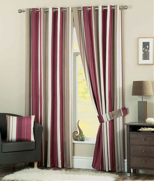 Home Interiors Contemporary Bedroom Curtains Designs Ideas 2011