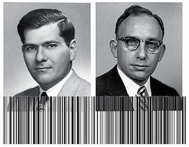 Norman Joseph Woodland và Bernard Silver - hai trong số những người đầu tiên phát triển ý tưởng về Barcode