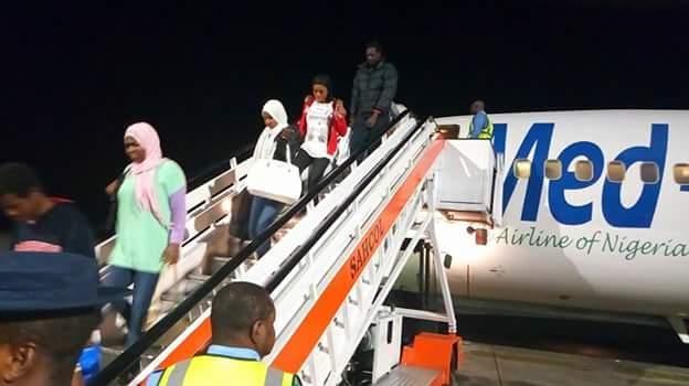 FB IMG 1518510108505 - Photos: Fifth batch of Libyan Returnees arrive in Port Harcourt
