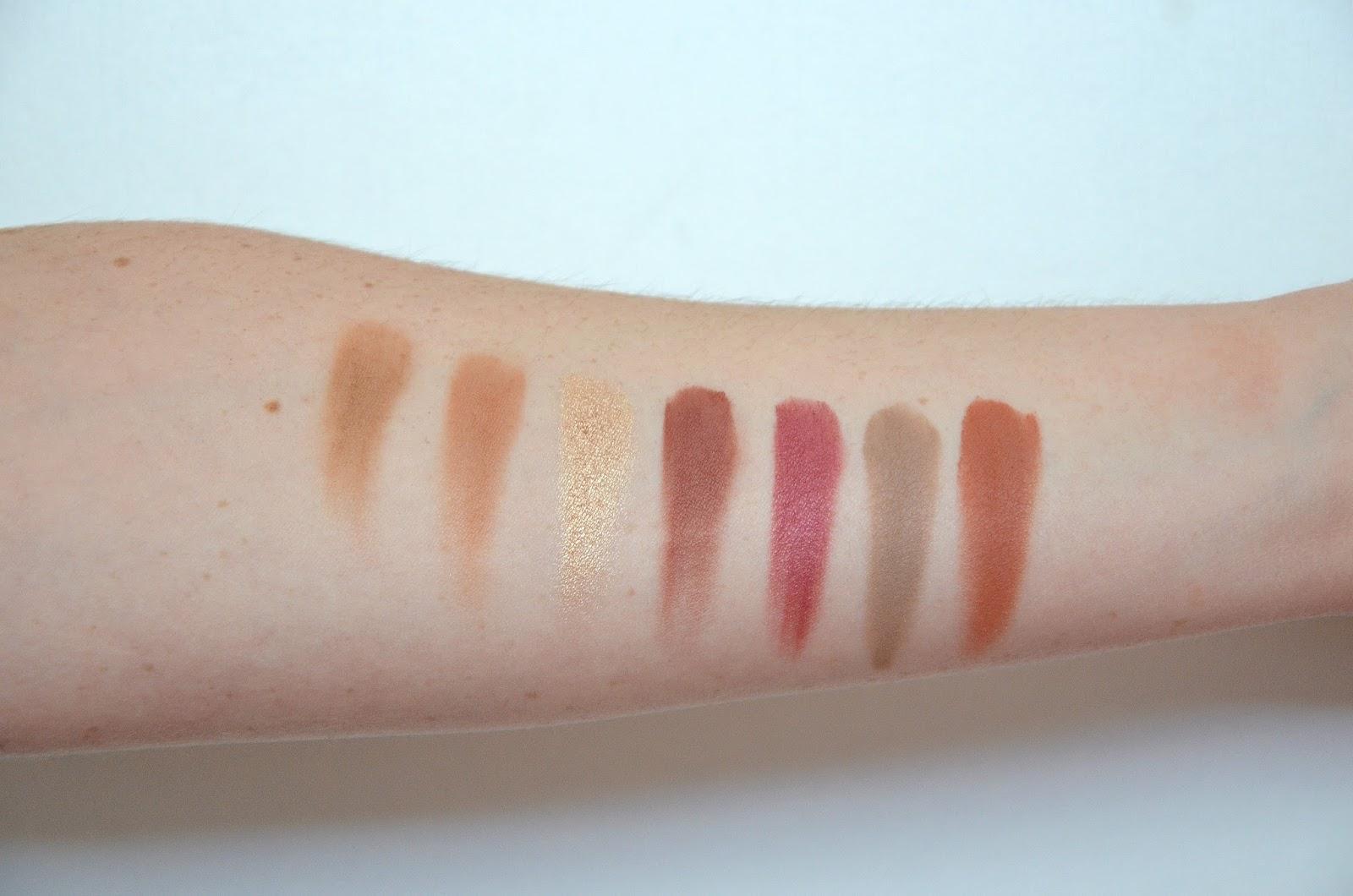 Anastasia Beverly Hills ABH modern renaissance eyeshadow palette swatch second line