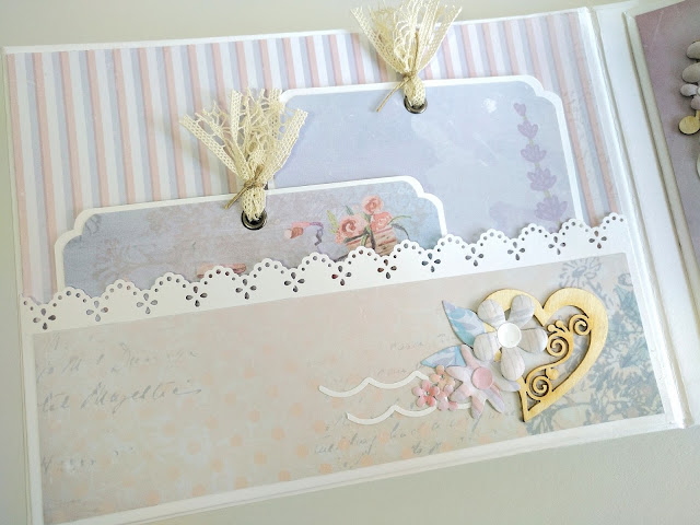 mini album con maletin para boda