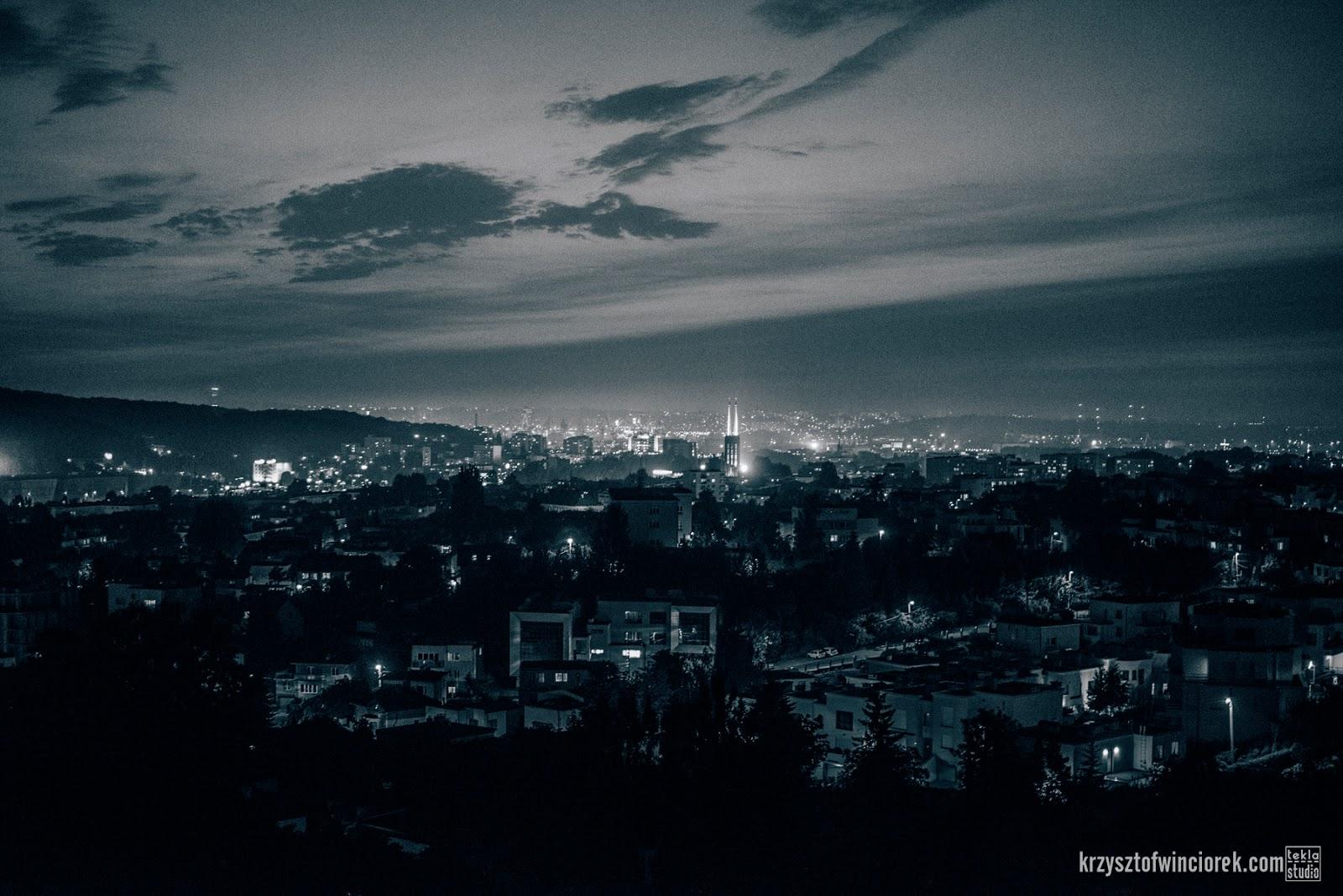 Night from Redłowo