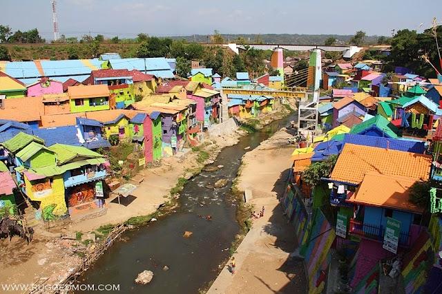 Indonesia | Uniknya Kampung Warna Warni Jodipan!