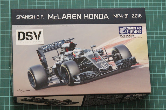Ebbro McLaren Honda MP4-31 Box