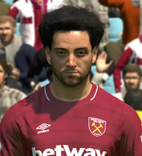 PES 2017 Faces Felipe Anderson by ABW_FaceEdit