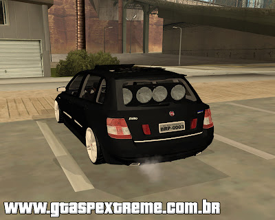 Fiat Stilo Dualogic Edit para grand theft auto