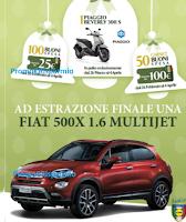 Logo Grande Concorso Deluxe Pasqua: con Lidl vinci centinaia di buoni spesa, Scooter Piaggio e Fiat500