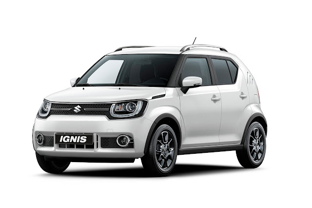 The new Suzuki IGNIS at the 2016 Paris Motor Show