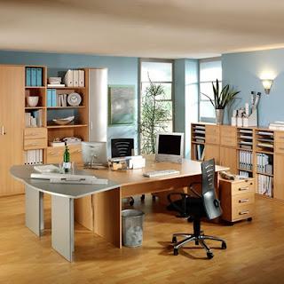 Sử dụng nội thất bằng gỗ trong thiết kế văn phòng