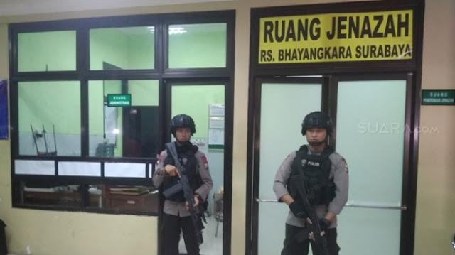 Bukan Harum Wewangi, Membuat Mau Muntah! Dari Mayat Pelaku Bom Bunuh Diri Surabaya Bau ......