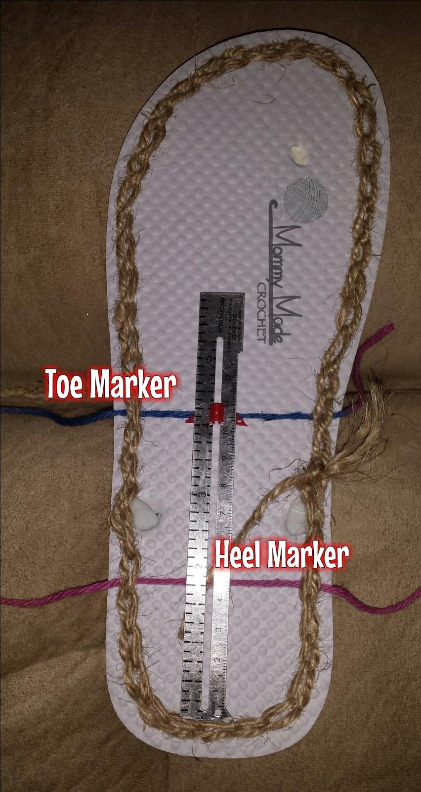 Flop Straps Crochet Flip