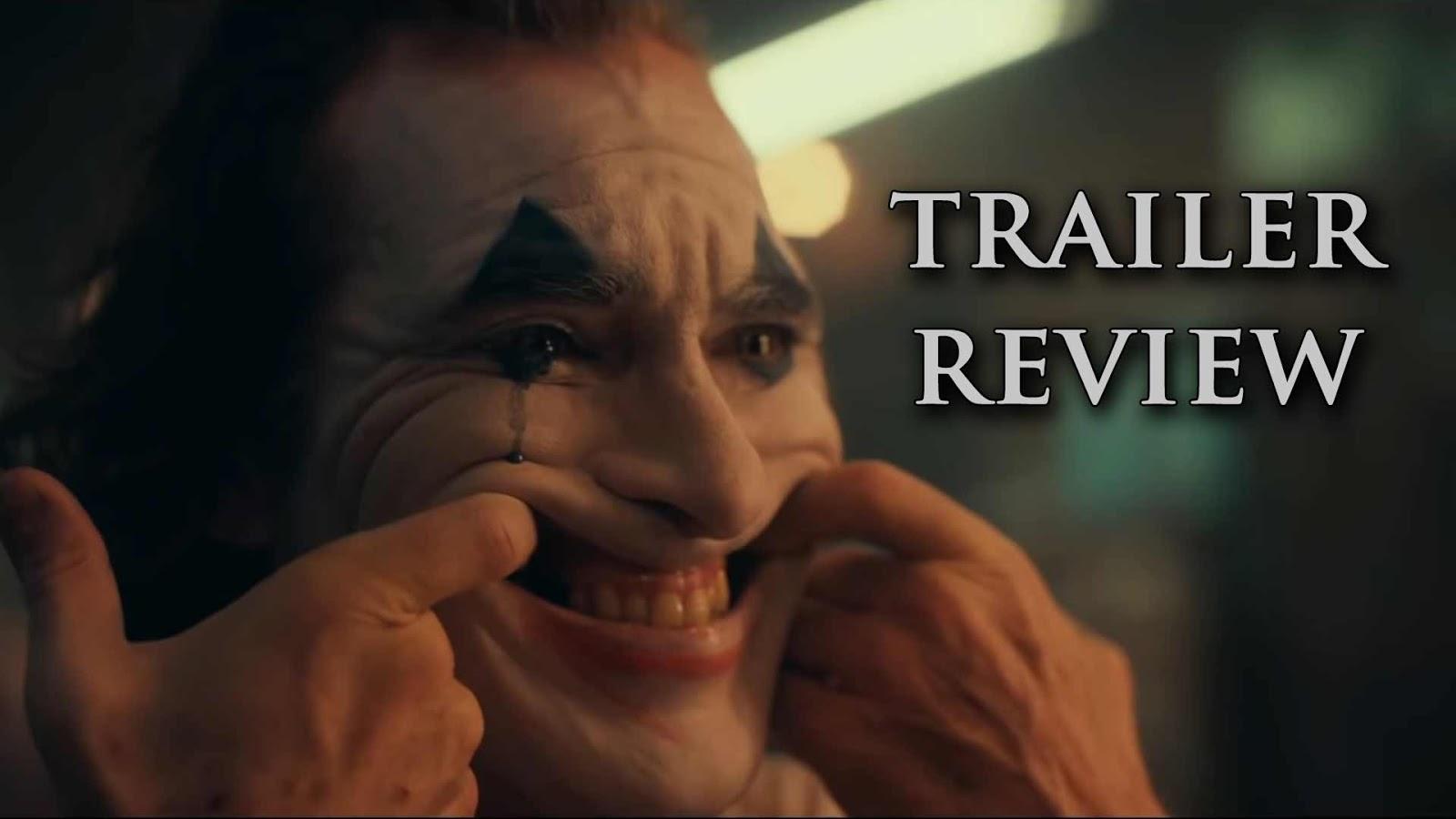 """""""Joker, The Dark Smile Begins"""" - Trailer Review"""