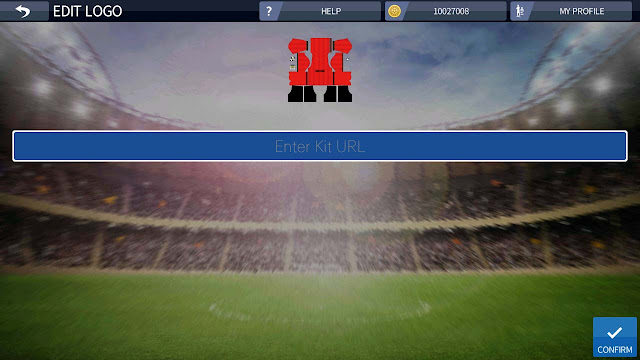 cara mengubah kit dream league soccer