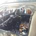 ရန္ကုန္ အေနာ္ရထာလမ္းမေပၚ  ဆူဇူကီးကားတစီး မီးေလာင္၊ ယာဥ္ေမာင္း ကားထားျပီး ထြက္ေျပး