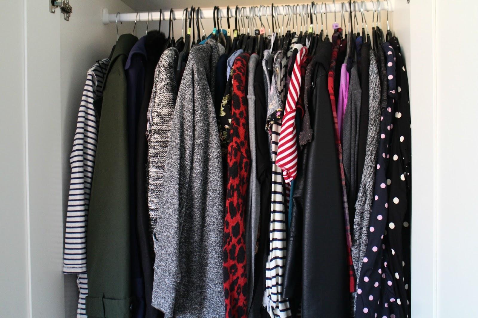 Wardrobe Tour Blog