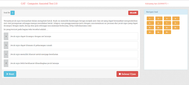 Download Download Source Code Aplikasi Ujian Online Codeigniter V2.0