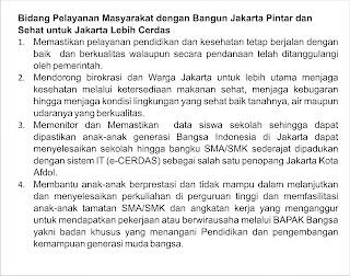 Pelayanan Masyarakat untuk Jakarta Lebih Cerdas