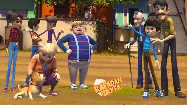 Rafadan Tayfa Çizgifilmi
