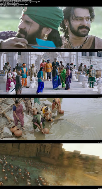 Baahubali 2 The Conclusion 2017 HDRip 720p Hindi 800MB