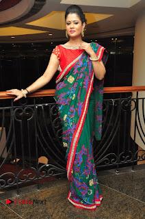 Shilpa Chakravarthy Pictures in Saree at Women Anthem Album Launch 0101