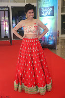 Mahima in beautiful Red Ghagra beigh transparent choli ~  Exclusive 076.JPG