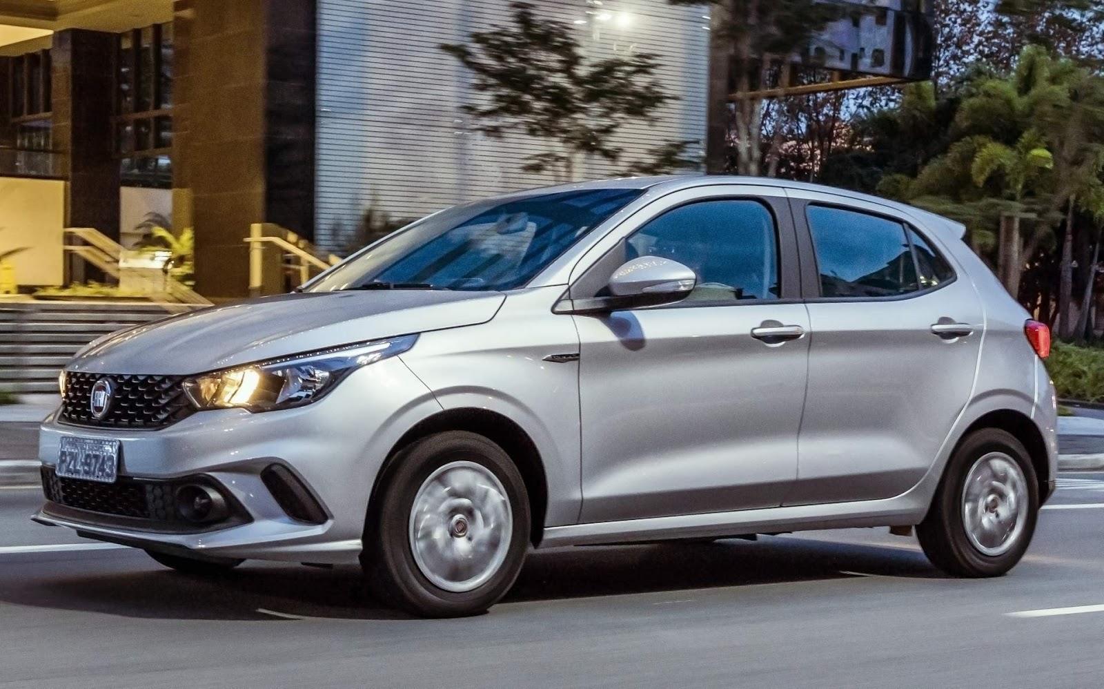 Fiat Argo - carro mais vendido do Brasil em maio