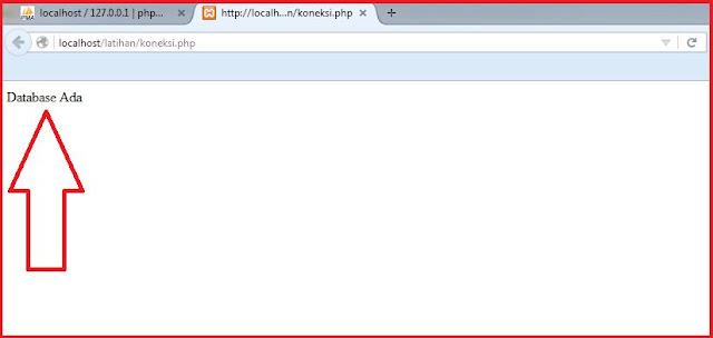 Cara Membuat Koneksi Ke Database MySql dengan PHP