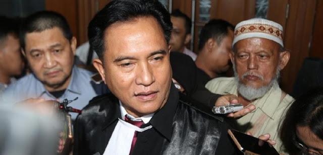 Diminta Mundur sebagai Pengacara HTI karena Jadi Pengacara Jokowi-Ma'ruf, Ini Jawaban Yusril