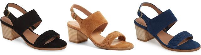 Caslon Carden 2 Sandals $55 (reg $90)