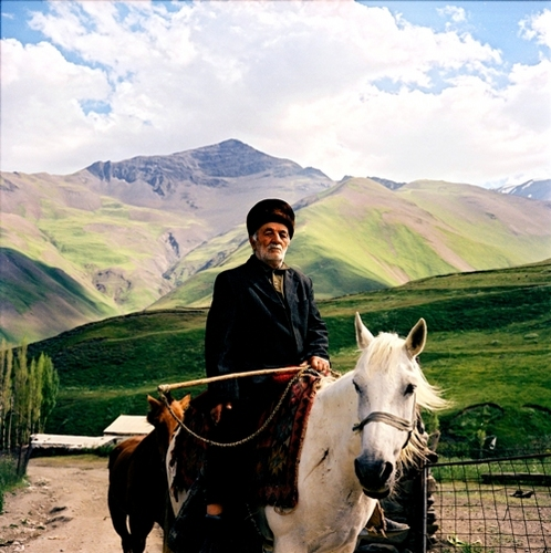 Caucasian from the village Hynalyk, Azerbaijan, 2006 © Rena Effendi