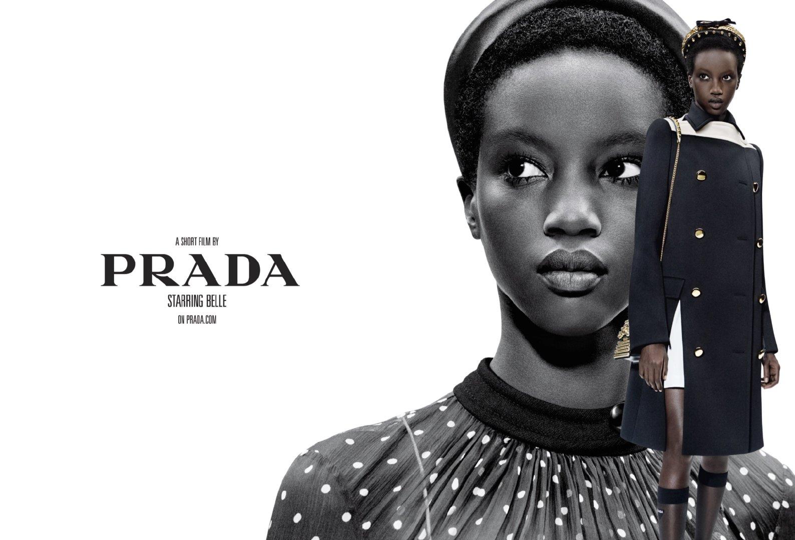 34a9dd346d2e7f Ad Campaign: Prada Spring/Summer 2019: Freja Beha, Gigi Hadid, Liu ...
