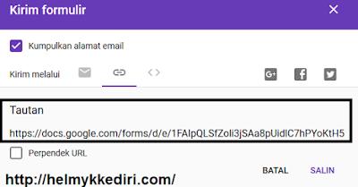 Cara membuat formulir online dengan google7