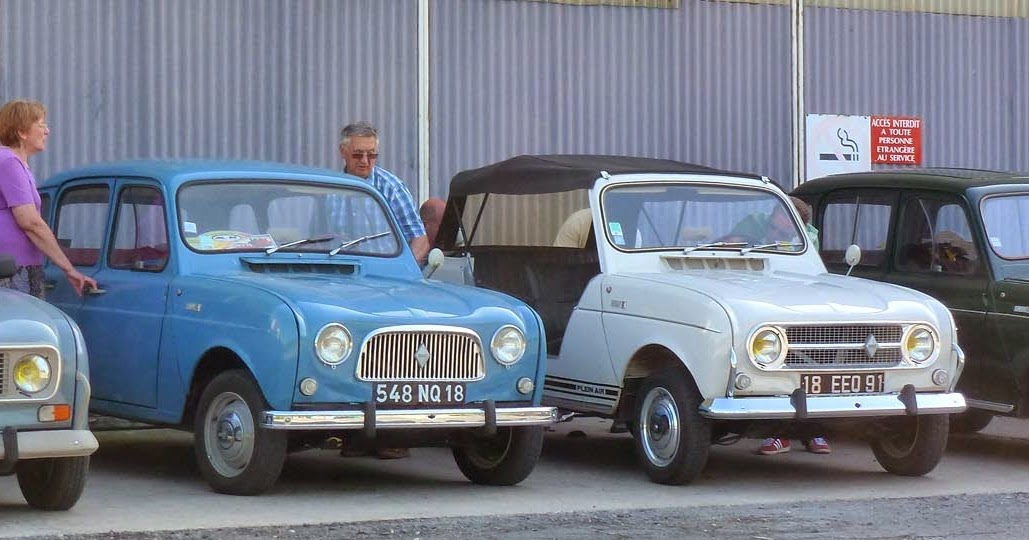 Living The Life In Saint Aignan My Old Renault 4l