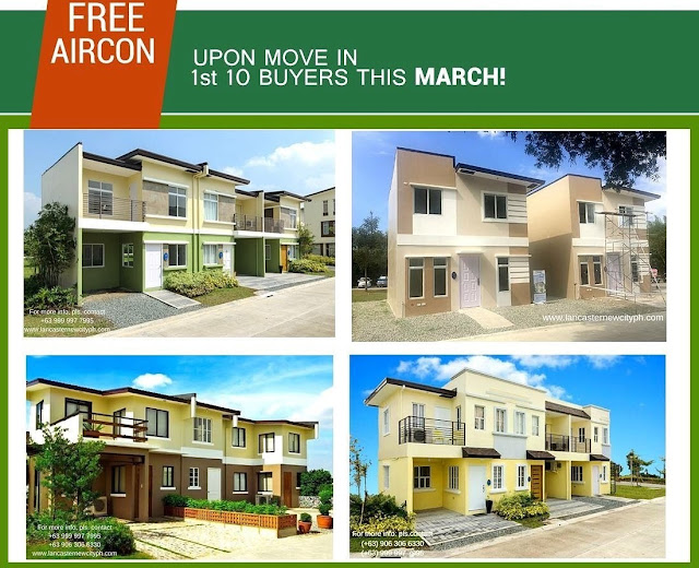 Special Promo at Lancaster New City Cavite