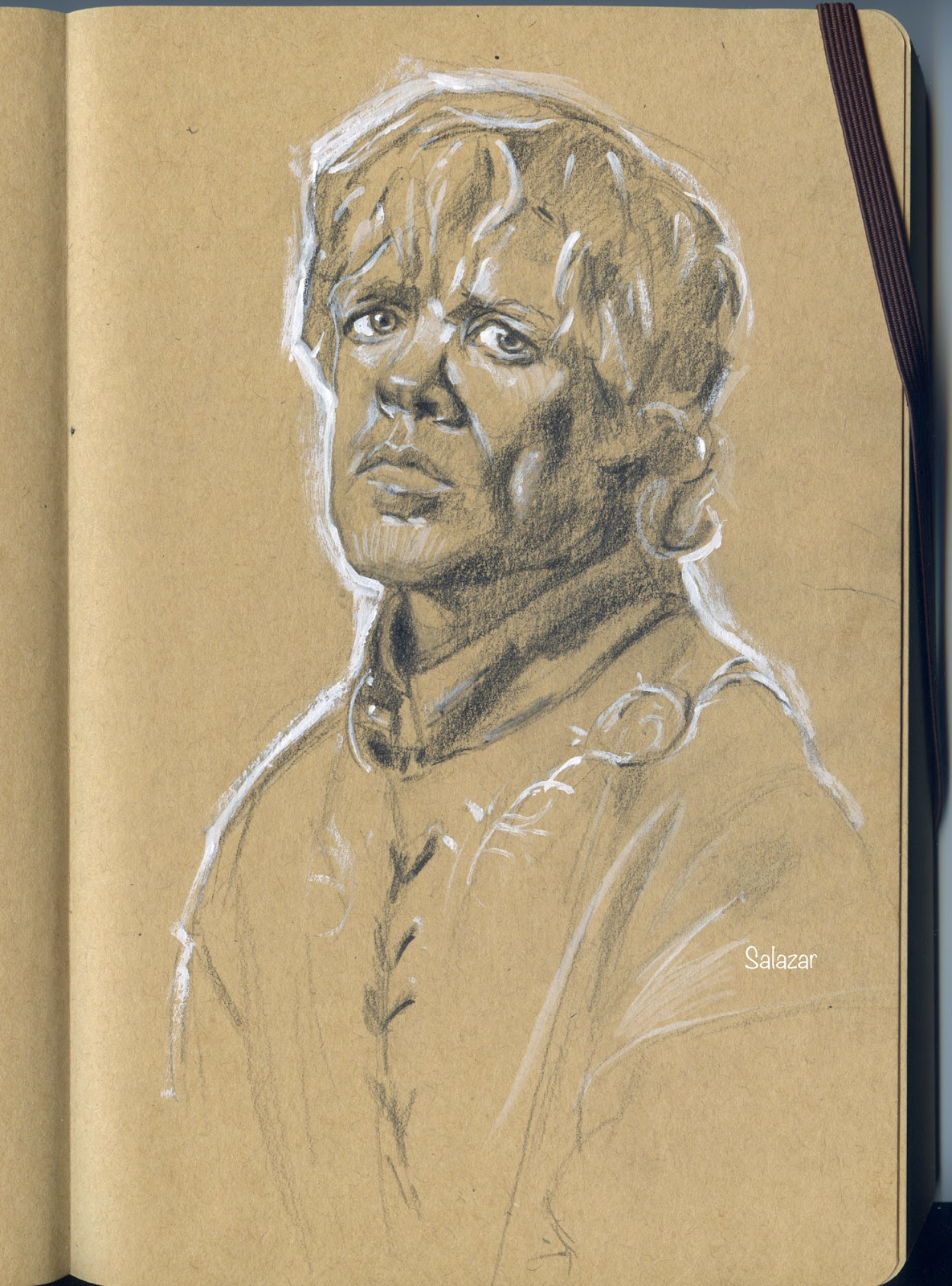 Retrato a lápiz. Game of Thrones. Tyrion Lannister