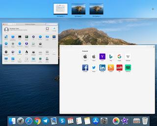 Desktop multipli