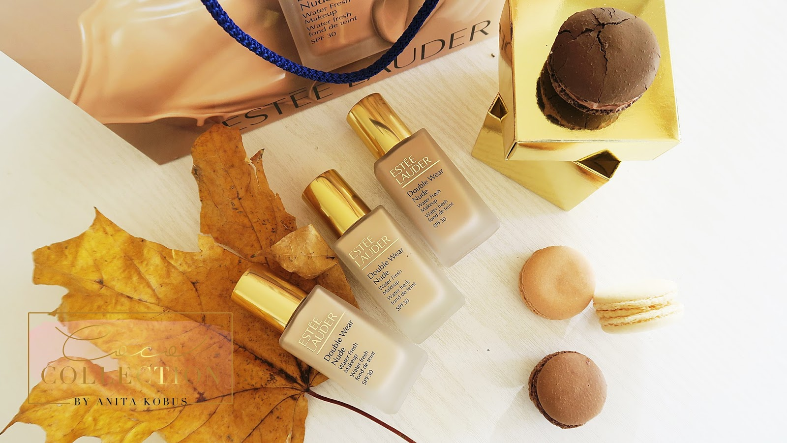 ESTEE LAUDER DOUBLE WEAR NUDE WATER FRESH MAKEUP SPF 30