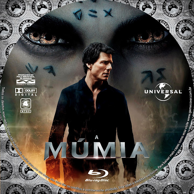 Label Bluray A Múmia 2017 [Exclusiva]